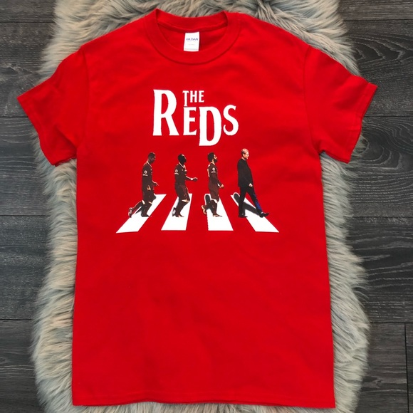 new style 4d13b 1f4a4 NWOT The Reds Liverpool FC Tee S unisex